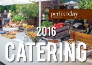 Bankettmappe perfectday Catering 2016