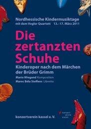 Nordhessische Kindermusiktage mit dem Vogler Quartett 13.