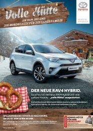 Volle Hütte - Aktuelle Toyota Angebote Frühjahr 2016