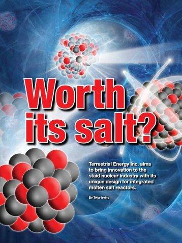 its salt?