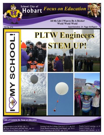 PLTW Engineers Launch Yohan Into Space!