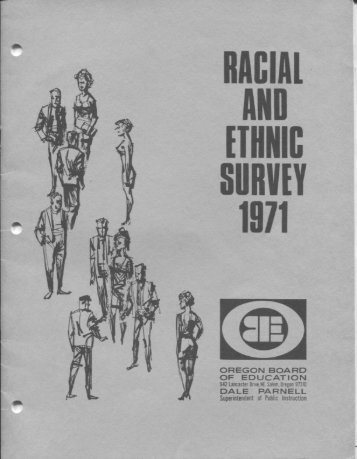 Racial and Ethnic Survey 1971