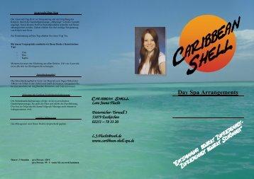 Day Spa Arrangements - Caribbean Shell Spa, Kosmetik, Wellness ...