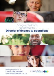 Director of finance & operations