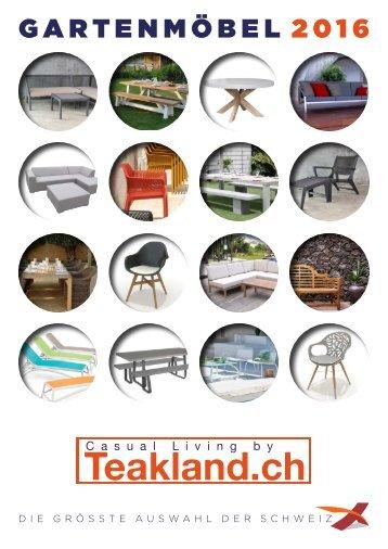 Gartenmoebel Lounge Katalog 2016 Schweiz