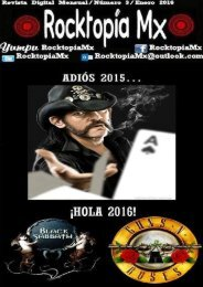 Rocktopía Mx - Número 3 - Enero 2016