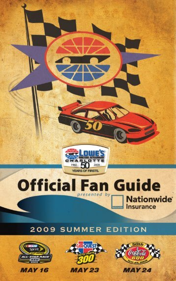 Presented By - Charlotte Motor Speedway