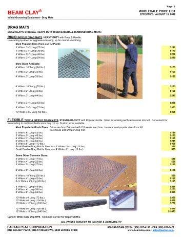 103 Infield Grooming Equipment Partac Peat Corporation