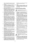 BlackandDecker Multitool- Mfl143 - Type H1 - Instruction Manual (la Hongrie) - Page 5