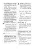 BlackandDecker Multitool- Mfl143 - Type H1 - Instruction Manual (Slovaque) - Page 6