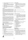 BlackandDecker Multitool- Mt143 - Type H1 - Instruction Manual (la Hongrie) - Page 5