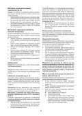 BlackandDecker Multitool- Mt143 - Type H1 - Instruction Manual (Pologne) - Page 6