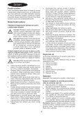 BlackandDecker Gonfleur- Mtnf9 - Type H1 - Instruction Manual (Tchèque) - Page 4
