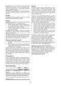 BlackandDecker Gonfleur- Mtnf9 - Type H1 - Instruction Manual (Tchèque) - Page 5