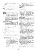 BlackandDecker Pistolet Thermique- Kx1650 - Type 1 - Instruction Manual (Roumanie) - Page 6