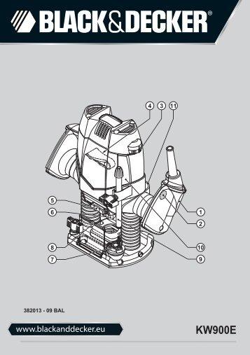 BlackandDecker Toupille- Kw900e - Type 1 - Instruction Manual (Balkans)