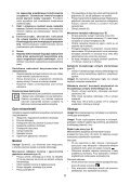 BlackandDecker Marteau Rotatif- Kd960 - Type 2 - Instruction Manual (Pologne) - Page 5