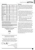 BlackandDecker Marteau Perf Rotatif- Kd750 - Type 1 - Instruction Manual (Européen) - Page 7