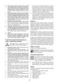 BlackandDecker Marteau Rotatif- Kd860 - Type 1 - Instruction Manual (Slovaque) - Page 5