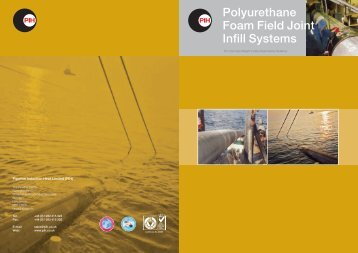 Polyurethane Foam Field Joint Infill Systems - PIH - Pipeline ...