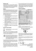 BlackandDecker Marteau Perf Rotatif- Kd750 - Type 1 - Instruction Manual (Turque) - Page 6