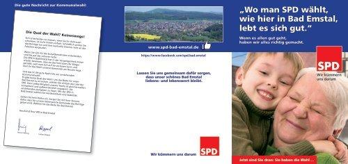 SPD Bad Emstal, Kommunalwahl 2016