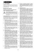 BlackandDecker Marteau Rotatif- Kd885 - Type 1 - Instruction Manual (Tchèque) - Page 4