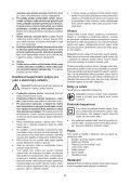 BlackandDecker Marteau Rotatif- Kd885 - Type 1 - Instruction Manual (Tchèque) - Page 5