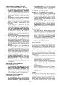BlackandDecker Meuleuse- Kg2205 - Type 1 - Instruction Manual (Roumanie) - Page 7