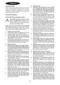 BlackandDecker Meuleuse Petit Diamètre- Kg751 - Type 1 - Instruction Manual (Turque) - Page 4
