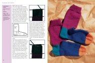 Strickprobe: Socken stricken
