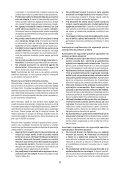 BlackandDecker Meuleuse Petit Diamètre- Kg725 - Type 3 - Instruction Manual (Roumanie) - Page 6