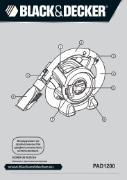 BlackandDecker Aspirateur Auto- Pad1200 - Type 1 - Instruction Manual (Russie - Ukraine)