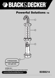 BlackandDecker Lampe De Poche- Bdbb214 - Type 1 - Instruction Manual (la Hongrie)