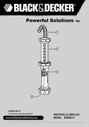 BlackandDecker Lampe De Poche- Bdbb214 - Type 1 - Instruction Manual (Pologne)
