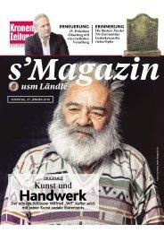 s'Magazin usm Ländle, 31. Jänner 2016