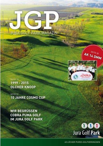 JGP Magazin 2015 Jura Golf Park
