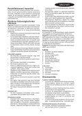 BlackandDecker Aspirateur Auto- Pav1205 - Type 1 - Instruction Manual (la Hongrie) - Page 5