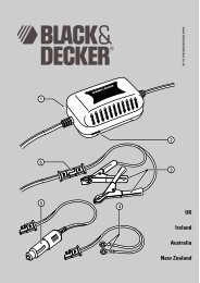 BlackandDecker Batterie De Renfort- Bdv080 - Type 1 - 2 - Instruction Manual (Anglaise)