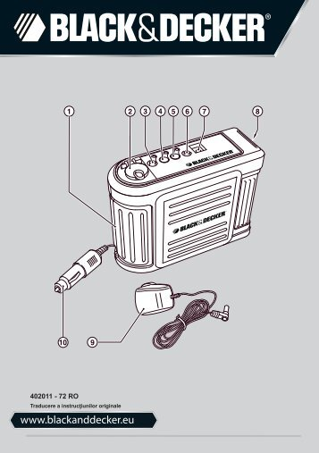 BlackandDecker Batterie De Renfort- Bdv030 - Type 1 - Instruction Manual (Roumanie)