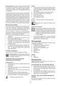 BlackandDecker Perceuse S/f- Hp148f4lbk - Type H3 - Instruction Manual (la Hongrie) - Page 5