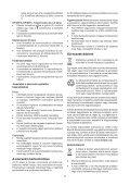 BlackandDecker Perceuse S/f- Hp148f4lbk - Type H3 - Instruction Manual (la Hongrie) - Page 7