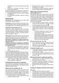 BlackandDecker Marteau Perforateur- Egbl148 - Type H1 - Instruction Manual (Pologne) - Page 6