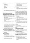 BlackandDecker Marteau Perforateur- Kr714cres - Type 2 - Instruction Manual (Roumanie) - Page 6