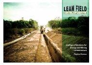 Our Specialities - Lean Field Developments