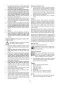 BlackandDecker Marteau Perforateur- Kr504cre - Type 2 - Instruction Manual (Slovaque) - Page 5