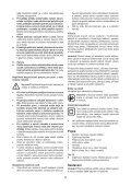 BlackandDecker Marteau Perforateur- Kr504cre - Type 2 - Instruction Manual (Tchèque) - Page 5