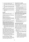 BlackandDecker Perceuse S/f- Hp146f4lbk - Type H3 - Instruction Manual (Slovaque) - Page 6