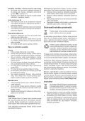 BlackandDecker Perceuse S/f- Hp146f4lbk - Type H3 - Instruction Manual (Slovaque) - Page 7