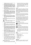 BlackandDecker Perceuse- Cd71cre - Type 1 - Instruction Manual (Tchèque) - Page 4